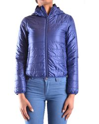 Aspesi - Women's Blue Polyamide Down Jacket - Lyst
