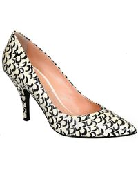 Barbara Bui - Women's White Leather Pumps - Lyst