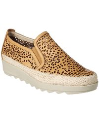 The Flexx - The Call Me Leather Slip-on - Lyst