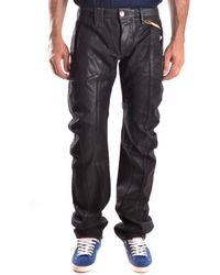 John Galliano - Men's Mcbi130118o Black Cotton Pants - Lyst