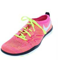 586568e5bb40 Nike - Womens Free Tr Focus Fk Oc Trainer Low Top Running Shoes - Lyst