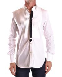 DSquared² - Men's Mcbi107200o White Cotton Shirt - Lyst