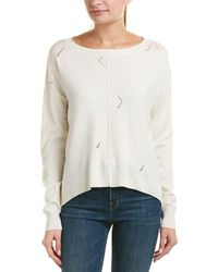 Michael Stars - Distressed Wool-blend Jumper - Lyst