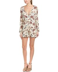 Patrons Of Peace - Printed Romper - Lyst