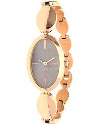 Esprit - Watch Allie Pink Gold Es108592003 - Lyst