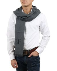 Gianfranco Ferré - Scr 01783 Gf1 Grey Mens' Oversized Scarf - Lyst