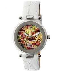 Sophie & Freda - Kew Porcelain-dial Watch - Lyst