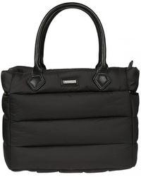 Woolrich - Women's Black Polyamide Shoulder Bag - Lyst