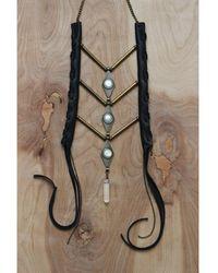 Love Leather - Heartbreaker Necklace - Lyst