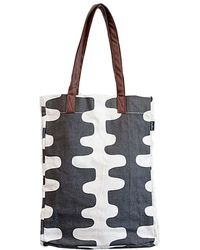 Maika - Echo Charcoal Print Market Tote - Lyst