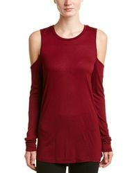 Sam Edelman - Cold-shoulder Top - Lyst