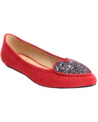 Penny Loves Kenny - Women's Nookie Glitter Flat - Lyst