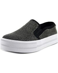 G by Guess - Womens Cherita Fabric Low Top Slip On Fashion Trainers - Lyst