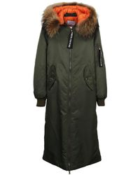 Forte Couture - Women's Fcfw173022 Green Polyamide Coat - Lyst
