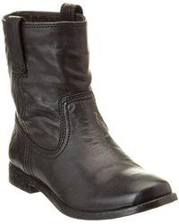 Frye - Women's Anna Leather Shortie Boot - Lyst