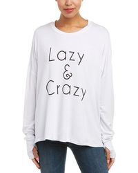 The Laundry Room - Crazy Lazy Top - Lyst