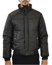 Marc By Marc Jacobs | Mens M4004967nr Black Leather Outerwear Jacket | Lyst