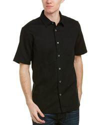 Ike Behar - Ike By Linen-blend Woven Shirt - Lyst