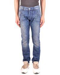 Balmain - Men's Mcbi241048o Blue Cotton Jeans - Lyst