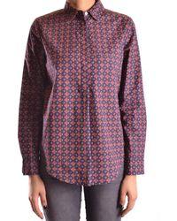 Peuterey - Women's Multicolor Cotton Shirt - Lyst