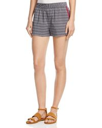 Soft Joie - Womens Elowen Cotton Printed Casual Shorts - Lyst