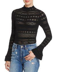 Olivaceous - Womens Lace Clubwear Bodysuit - Lyst