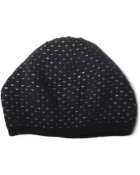 Portolano - Cashmere Mushroom Hat With Lurex - Lyst