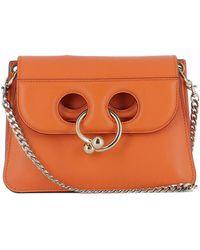J.W.Anderson - Women's Orange Leather Shoulder Bag - Lyst
