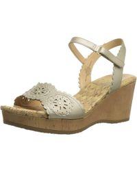 Easy Spirit - Women's Marvela Wedge Sandal - Lyst