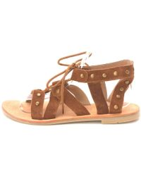 Diba True - Womens Train Stop Leather Open Toe Casual Gladiator Sandals - Lyst