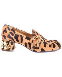 Car Shoe - Women's Brown Suede Pumps - Lyst