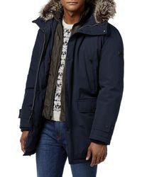9a7438ea8 Lyst - Calvin Klein Mens Winter Anorak Water Resistant Coat in Green ...