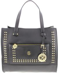 CXL by Christian Lacroix - Womens Maria Faux Leather Studded Tote Handbag - Lyst