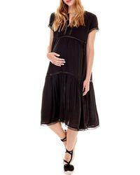 Imanimo - Drew Crochet Boho Dress - Lyst