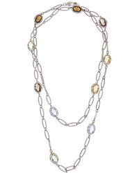 Tacori - Color 18k & Silver 15.59 Ct. Tw. Gemstone 38in Necklace - Lyst