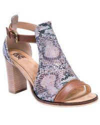 Muk Luks - Women's Darcey Stacked Heel Sandal - Lyst