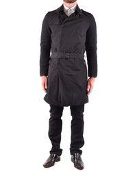 CoSTUME NATIONAL - Men's Black Polyester Trench Coat - Lyst