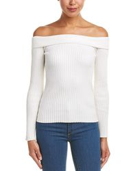 Haute Rogue - Off-the-shoulder Sweater - Lyst