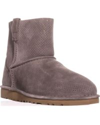 f5804b201f8 Ugg Ultra Short Boots in Brown - Lyst