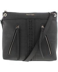 b641e0b9b601 Franco Sarto - Womens Abigail Faux Leather Signature Crossbody Handbag -  Lyst