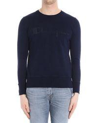 Paolo Pecora | Men's Blue Cotton Sweatshirt | Lyst