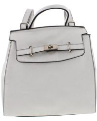 Catherine Malandrino - Womens Mia Faux Leather Textured Backpack - Lyst