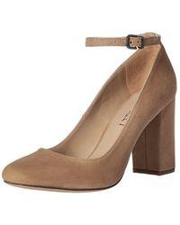 Via Spiga - Women's Selita Ankle Wrap Pump, Camel, Size 8.5 - Lyst