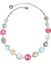 Antica Murrina - Women's Multicolor Other Materials Necklace - Lyst