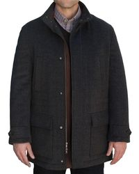 Robert Talbott - Shasta Iii Car Coat - Lyst