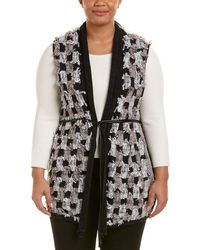 NIC+ZOE - Nic+zoe Plus Blocked Out Vest - Lyst
