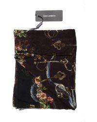 Dolce & Gabbana - Ladies Silk Scarf - Lyst