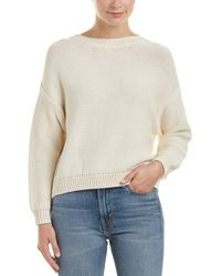 Vince - Drop Shoulder Sweater - Lyst