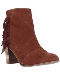 TOMS - Lunata Ankle Boots - Lyst