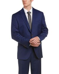David Donahue - Ryan Classic Fit Solid Wool Suit - Lyst